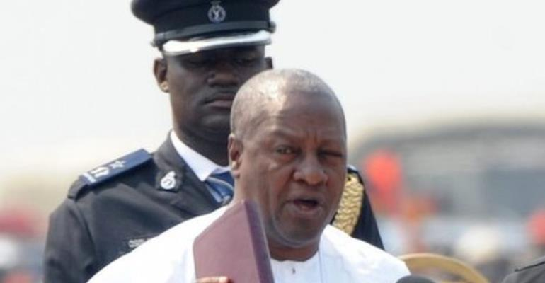 Prez Mahama Swearing In