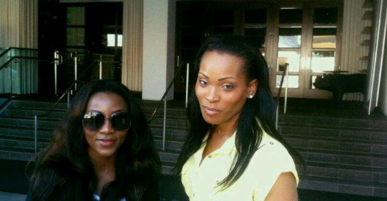 GENEVIEVE NNAJI MEETS WITH MS.ROYALTY TO SPEAK ON MARRIAGE