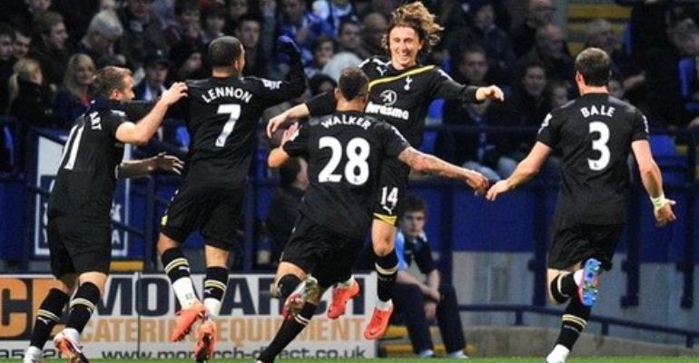 Tottenham thrash struggling Bolton 4-1