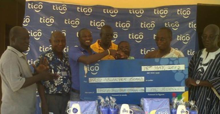 Tigo Ghana supports Aboakyer festival