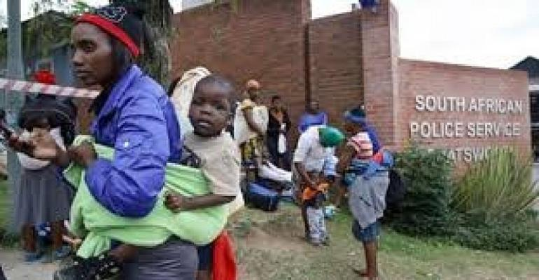 Nigerians in South Africa fearful after xenophobic attacks, seek refuge in police station