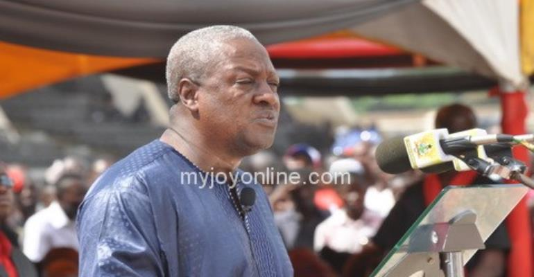 """""""Wise politicians"""" must stand by gov't in times of crisis – Mahama"""