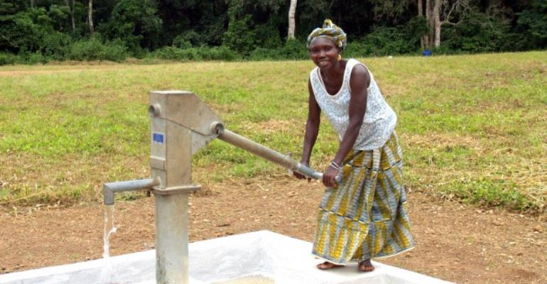 Nweneso Community Benefits From Potable Water Supply