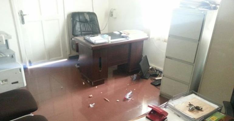 Raid was meant to crash NPP - Mensah Korsah reveals