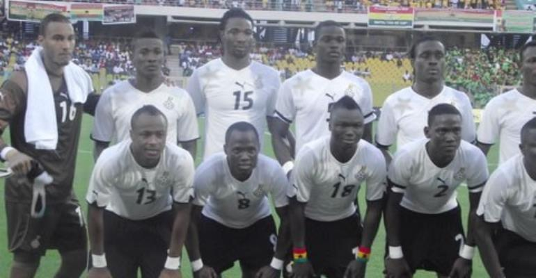 Black Stars to camp in UAE ahead of 2013 AFCON