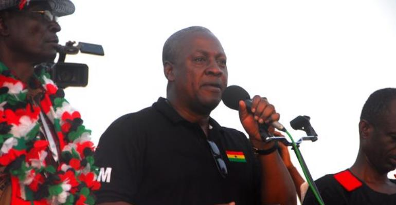 John Mahama Is Jumping The Gun....Starts Campaigning