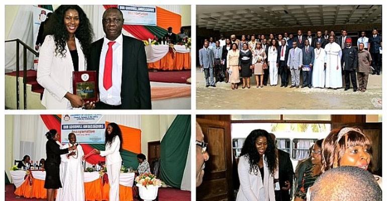 Stephanie Okereke Becomes UNICAL Ambassador
