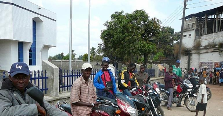 Police Impound 10 Tricycles, 6 Motorbikes In Goaso