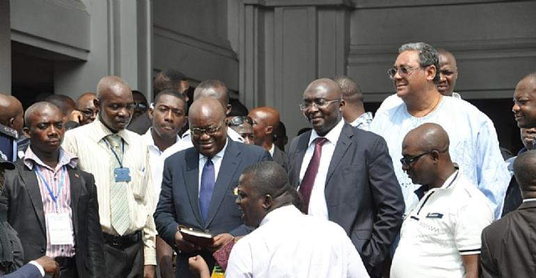 Is Dr. Bawumia not hurting Akufo-Addo all the more?