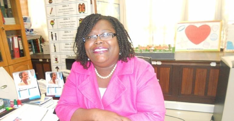 Nana Oye Lithur at work
