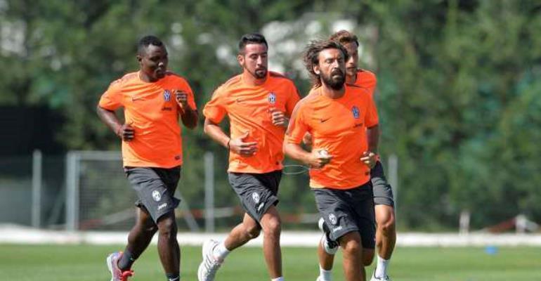 Ghana World Cup star Kwadwo Asamoah starts pre-season with Juventus