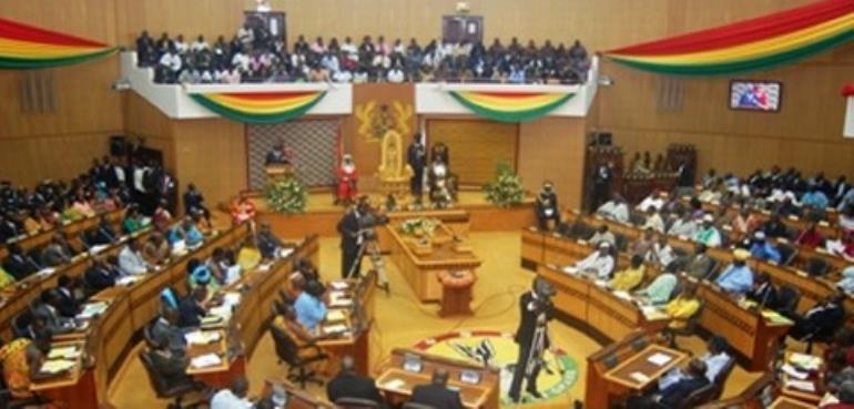 Parliament was virtually empty