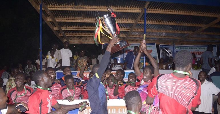 GSTS Wins 2015 Edition of Osagyefo Cup