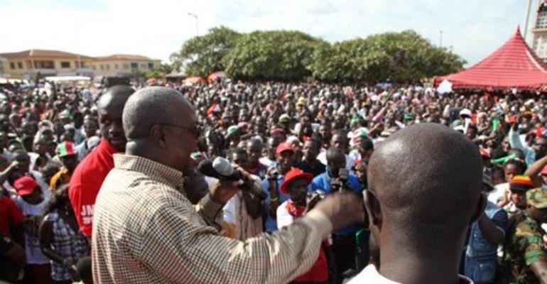 Let's pray for NPP; Mahama tells NDC supporters