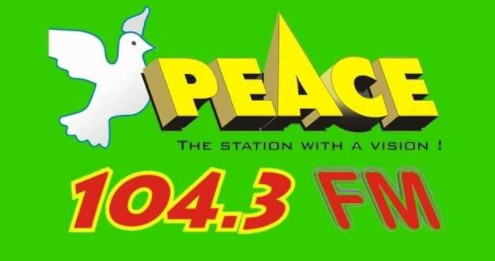 Peace 104.3 Fm logo