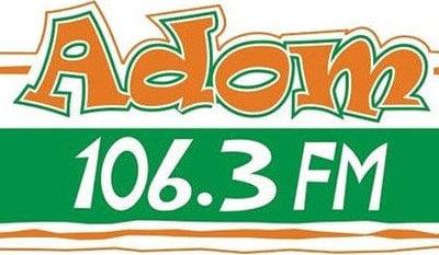 Adom 106.3 Fm logo