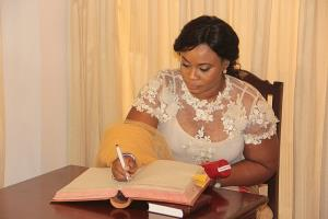 Ghana Confers Dr Kwadwo Afari Gyan With Nation's Highest Honours...As Charlotte Osei Officially Assumes Duty As EC Chairperson On Monday