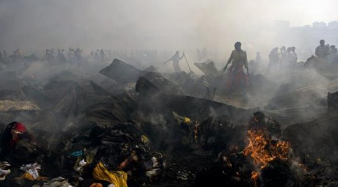 Around 10,000 traders had been affected.  By Walter Astrada (AFP/File)