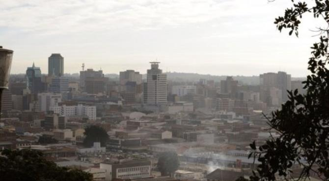 A general view of Harare.  By Alexander Joe (AFP/File)