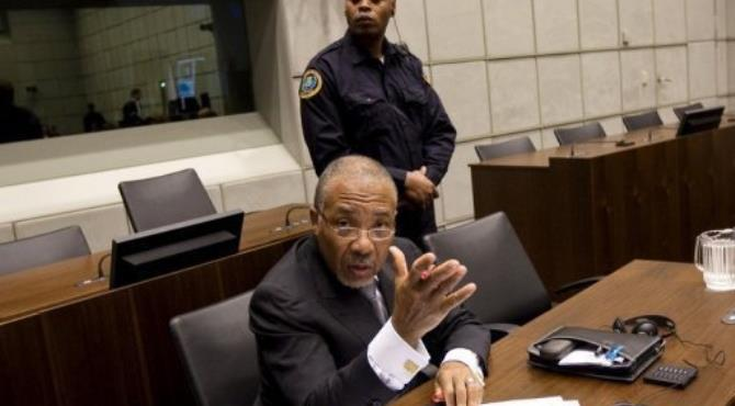 The former warlord has pleaded not guilty to 11 counts, dismissing the allegations as