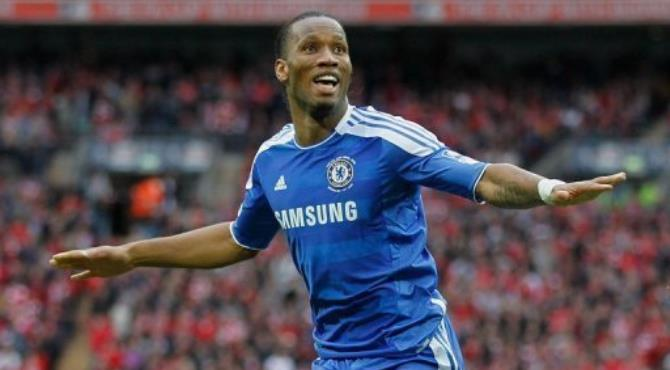 Drogba said he had signed a two and a half year contract with Shenhua.  By Ian Kington (AFP/File)