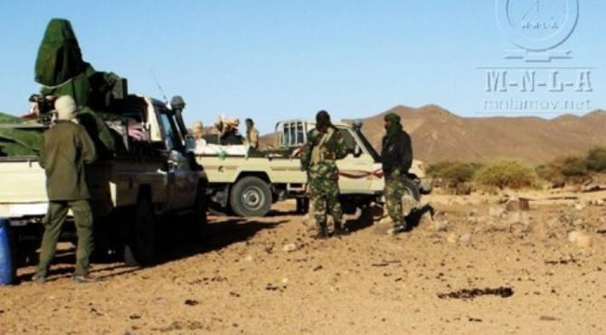 The Tuareg rebels declared the independence of Mali's north, a desert homeland they call Azawad.  By  (AFP/MNLA/File)