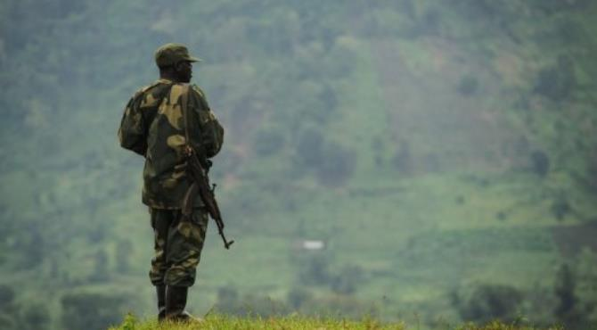 A soldier from the Armed Forces of the Democratic Republic of the Congo (FARDC).  By Phil Moore (AFP/File)