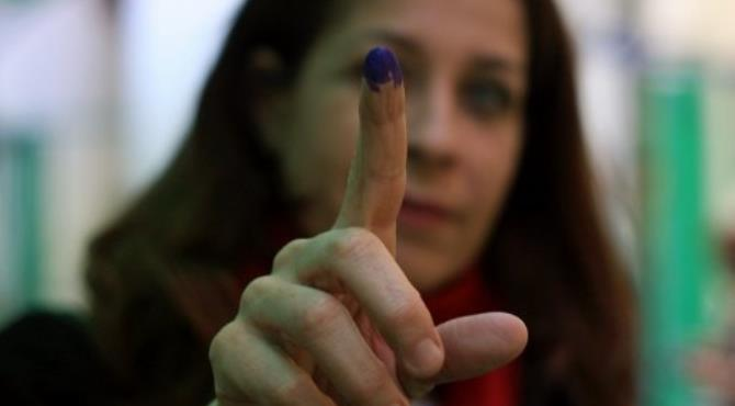 There will be no international monitoring of the presidential election, an official said.  By Mahmud Hams (AFP)