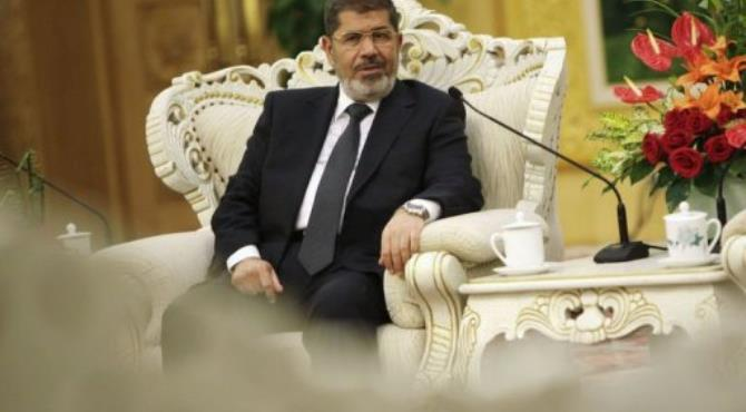 Egypt's President Mohamed Morsi.  By How Hwee Young (AFP/Pool/File)