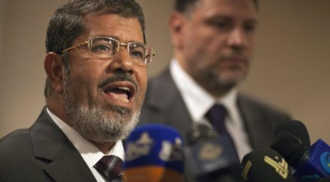 Mohammed Mursi won the first-round with 5,764,952 votes.  By MARCO LONGARI (AFP/File)