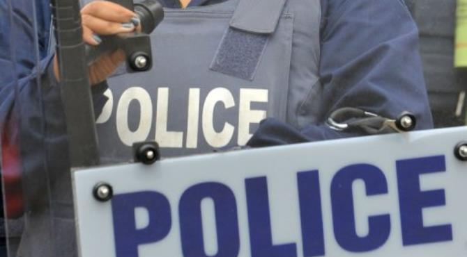 Police are in a standoff with a gunman at Westville Hospital, Durban.  By ALEXANDER JOE (AFP)