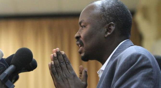 Ahmed Harun, governor of Sudan's embattled state of South Kordofan.  By Ashraf Shazly (AFP)
