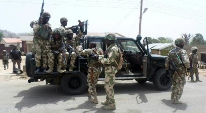 In August 2014, Madagali fell to Boko Haram jihadists but was reclaimed two months later, although attacks continue.  By NIGERIAN ARMY PRESS SERVICE (AFP/File)