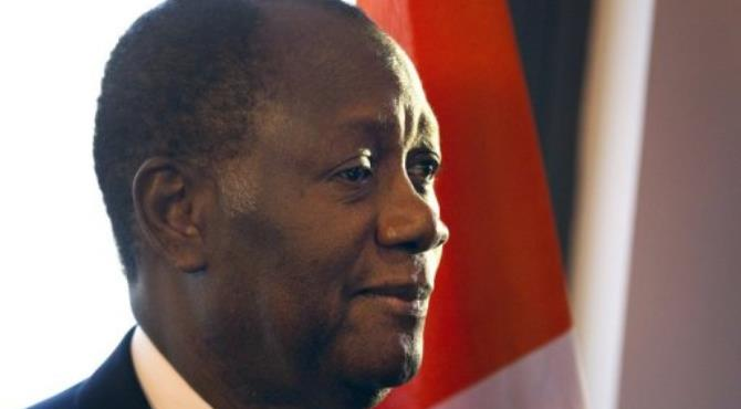 Sources said Ouattara would likely be elected to succeed Nigerian's Goodluck Jonathan.  By Charles Platiau (AFP/File)