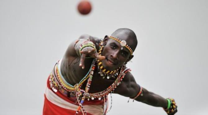 None of the Maasai on this team had even heard of the sport until five years ago.  By Carl de Souza (AFP/File)
