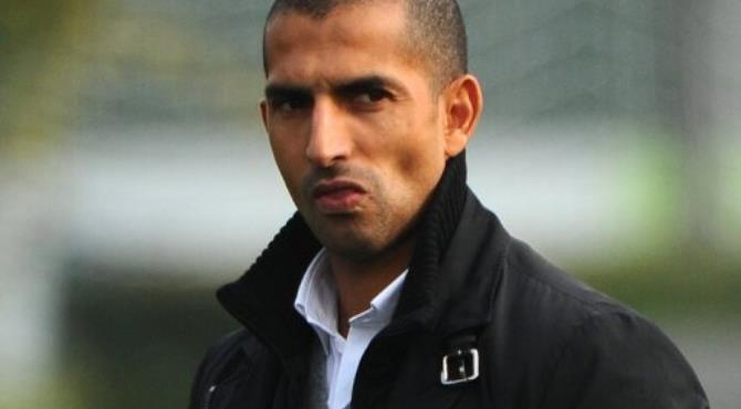 Lamouchi won 12 caps for France between 1996-2000 as a midfielder.  By Olivier Morin (AFP/File)