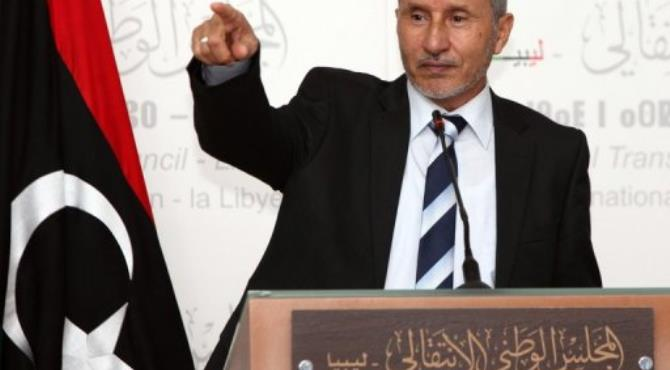 Mustafa Abdel Jalil, pictured on 27 June 2012.  By Mahmud Turkia (AFP/File)
