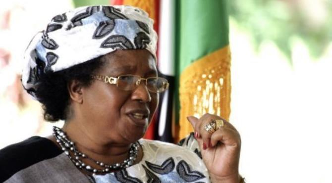 Malawi's president Joyce Banda put herself in charge of the civil service, disaster management, nutrition, HIV and AIDS.  By Amos Gumulira (AFP/File)