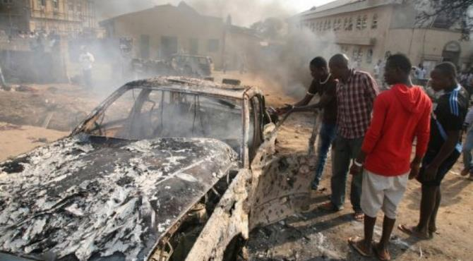 The Christmas bombings of a Roman Catholic church outside Abuja claimed at least 49 lives.  By Sunday Aghaeze (AFP/File)