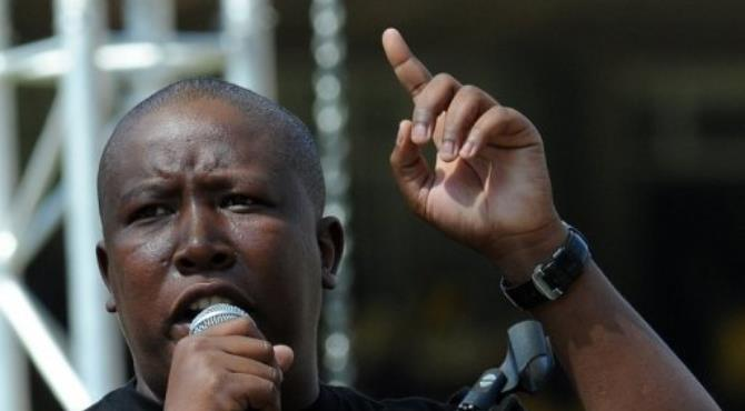 Malema has appealed his expulsion from ANC, which found him guilty of sowing divisions within the party.  By Alexander Joe (AFP/File)