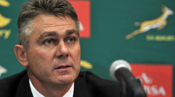 South Africa coach Heyneke Meyer.  By  (AFP/File)