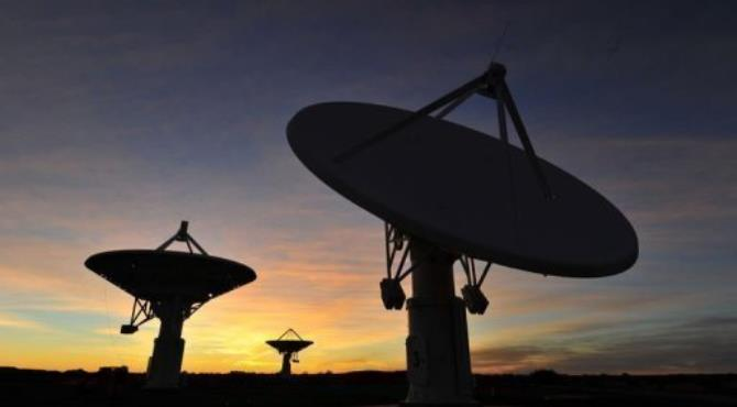Eventually 80 percent of the 3,000 mid-frequency dishes will be installed in Africa.  By Alexander Joe (AFP/File)