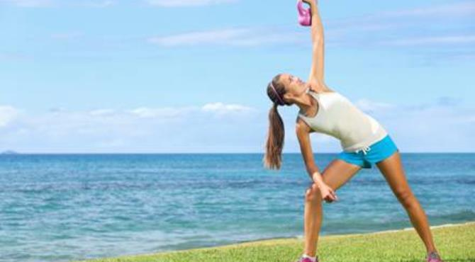 Great exercises for losing weight: Kettlebells
