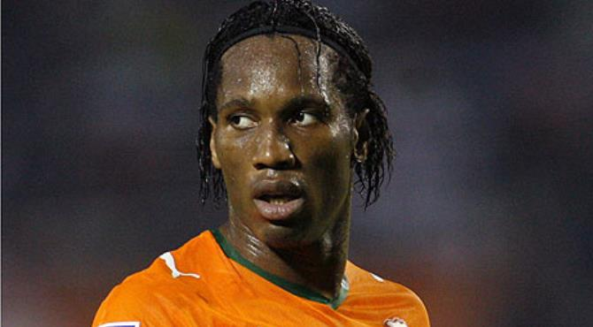 Chelsea's Didier Drogba is the focal point of Ivory Coast's formidable strikeforce. Photograph: Luc Gnago/Reuters