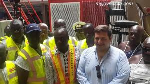Ghana holds ceremony to welcome power barge