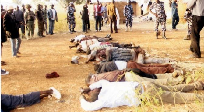 Victims of the Kaduna carnage