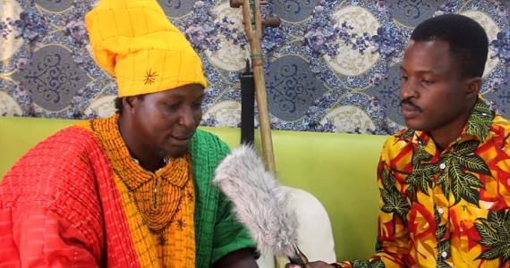 King Ayisoba sees marijuana as food