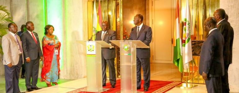 President Ouattara Decorated With Highest State Award