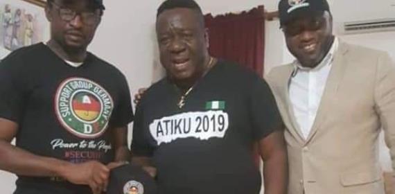 Actor, Mr Ibu Campaigns for Atiku Abubakar