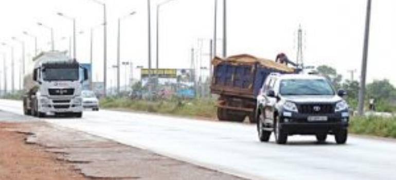 Tema Motorway Roundabout Interchange: Traffic Diverted Again